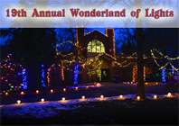The Wonderland of Lights- Lansing Potter Park Zoo