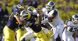 It's Rivaly Week once again, and the Michigan State Spartans are more than ready for kickoff.