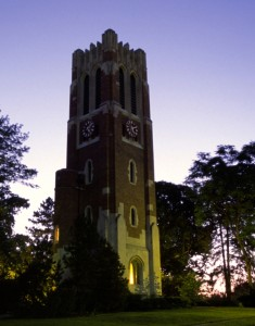 MSU Beaumont Tower in East Lansing, MI