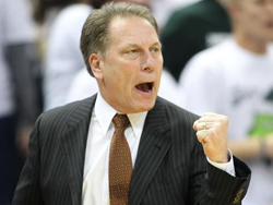 Coach Tom Izzo is ready to lead the Spartan Men into Battle against that OTHER school from this great State.