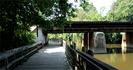 The Lansing River Trail is an attraction of it's own, but it can get you to a bunch of other attractions too during Be A Tourist In Your Own Town!