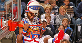 The Harlem Globetrotters are basketball and entertainment super stars. come catch the fun.