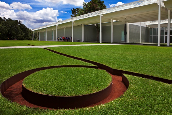 Menil Collection Ground Display