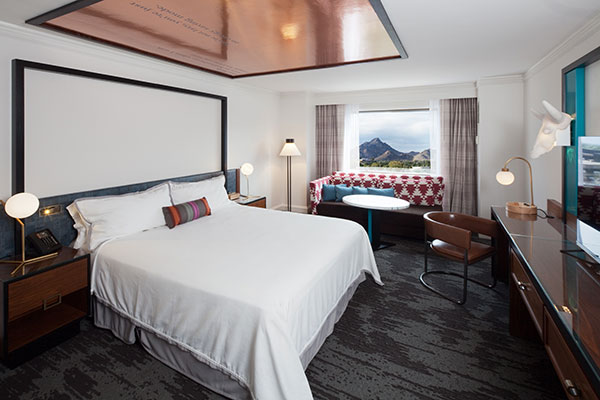 the camby hotel room