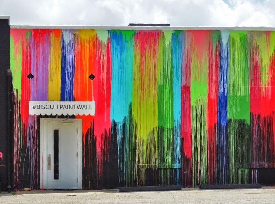 bicuit paint wall