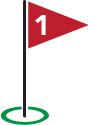 Golf Flag #1