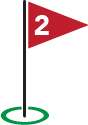 Golf Flag #2