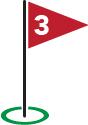 Golf Flag #3