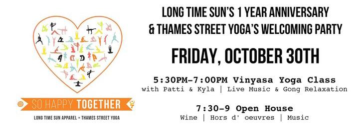 Thames Street Yoga Newport RI
