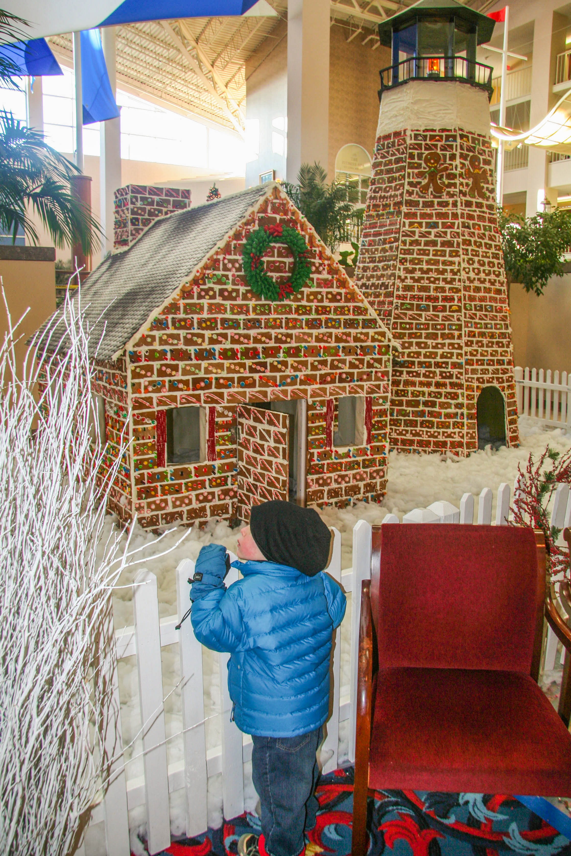 Christmas in Newport, Gingerbread House, 12/12/09