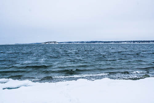 Although it is covered in snow right now, Fogland Beach is a beautiful destination in the summer!