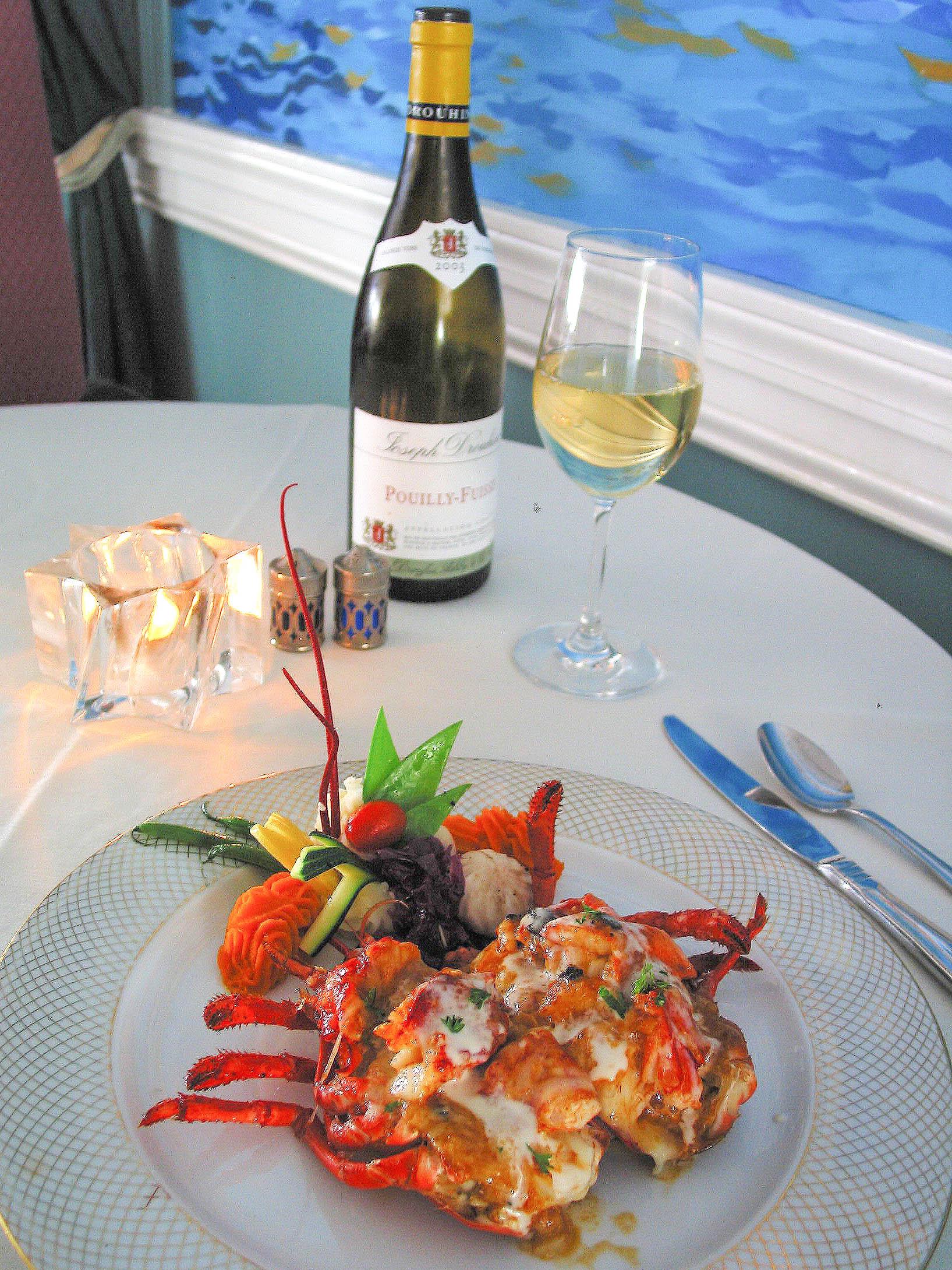 stuffed lobster_credit Restaurant Bouchard