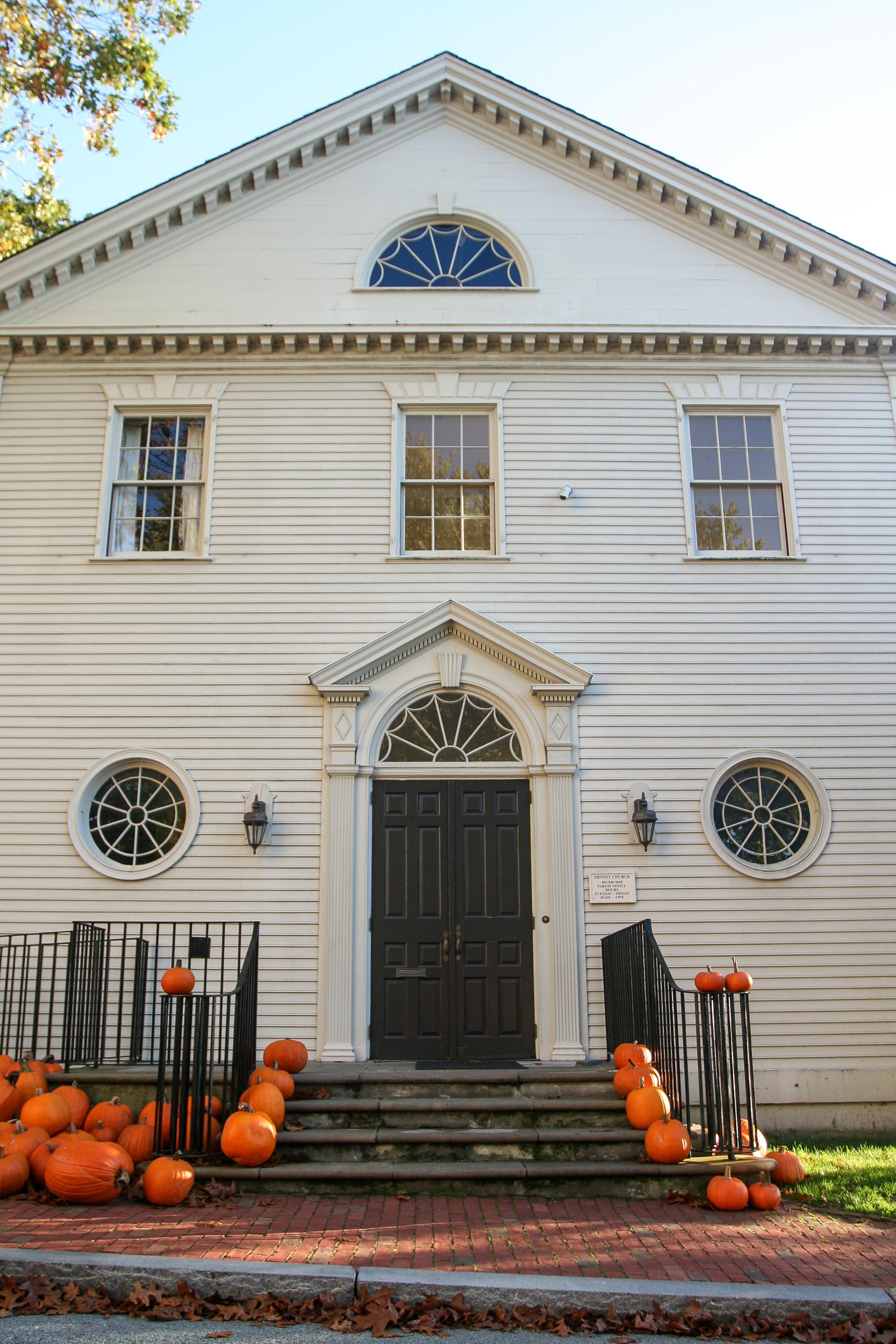 trinity pumpkin fall_credit Discover Newport