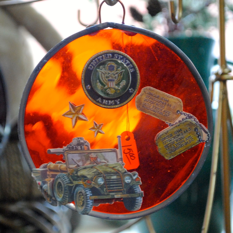 Lorri Knapp can create the perfect gift for the military member in your life at Enchanted Journey.