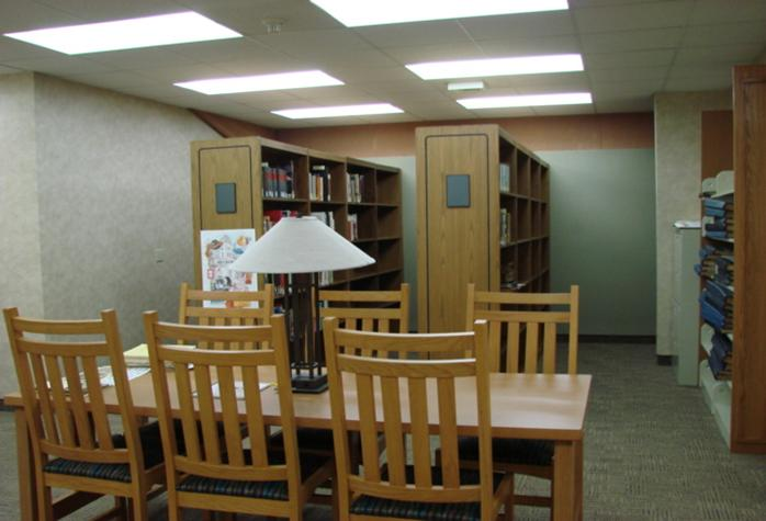 Huron Heritage Room Avon Library