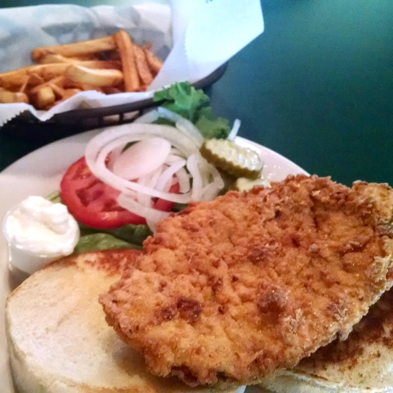 A pork tenderloin sandwich at Cornerstone Roadhouse in Stilesville is worth a visit!