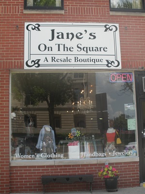 Jane's On the Square, Danville, Indiana