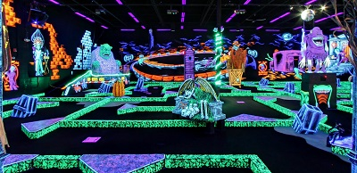 Monster Mini Golf, Avon, Indiana