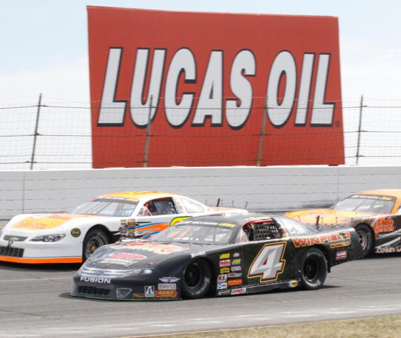 Stock Car Series at Lucas Oil Raceway, Brownsburg, Indiana