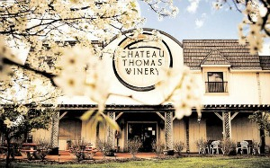 Enjoy dinner, wine, and music at Chateau Thomas.