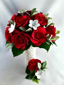 Clay Petal Roses, Hendricks County Indiana