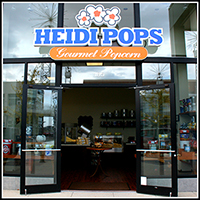 Heidi Pops Gourmet Popcorn in Metropolis Lifestyle Center, Plainfield, Indiana