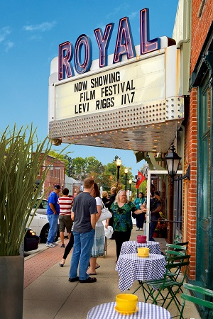 Indiana Short Film Festival at the Royal Theater in Danville, Indiana