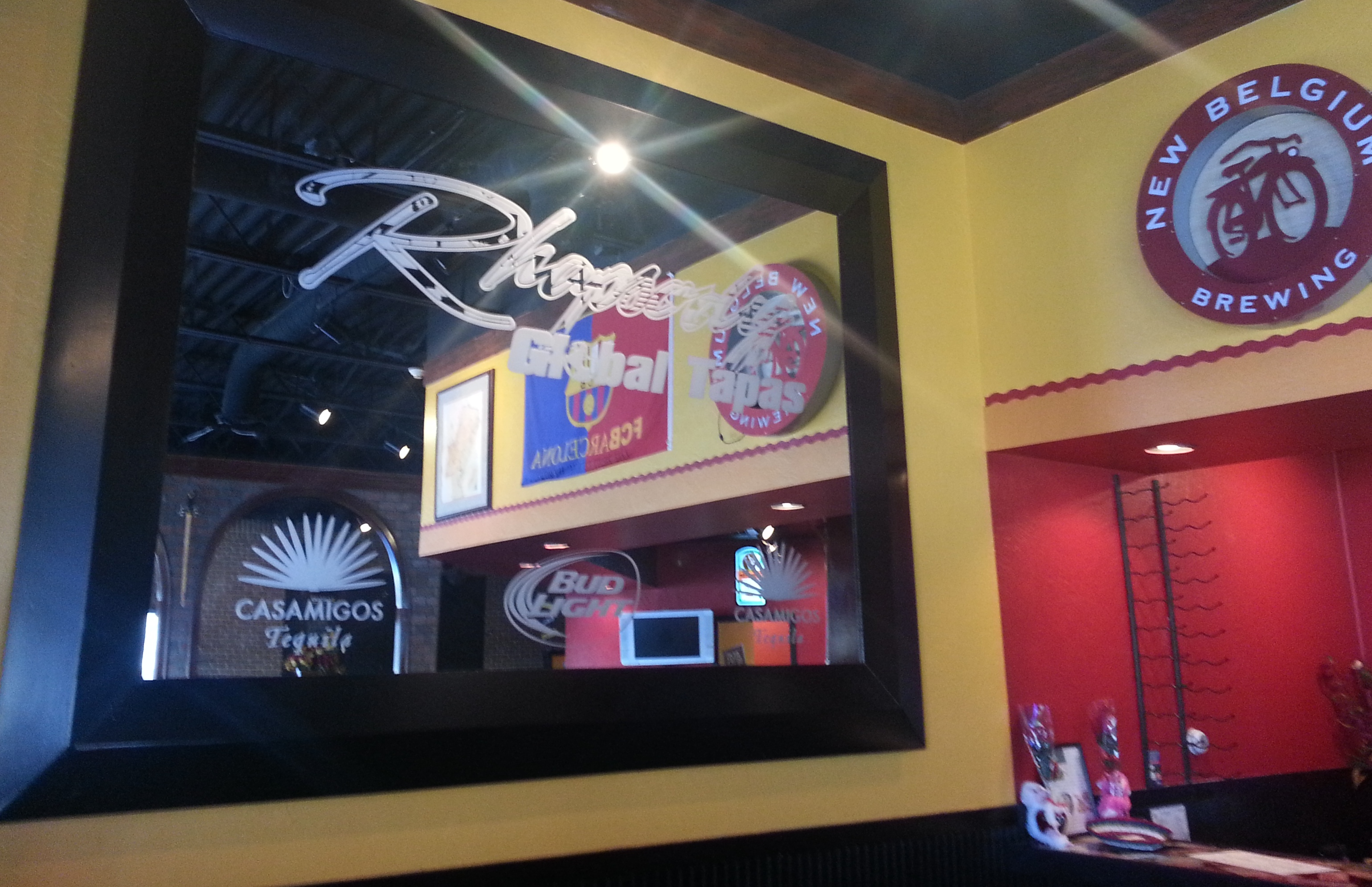 Inside Rhapsody Global Tapas in Brownsburg, Indiana