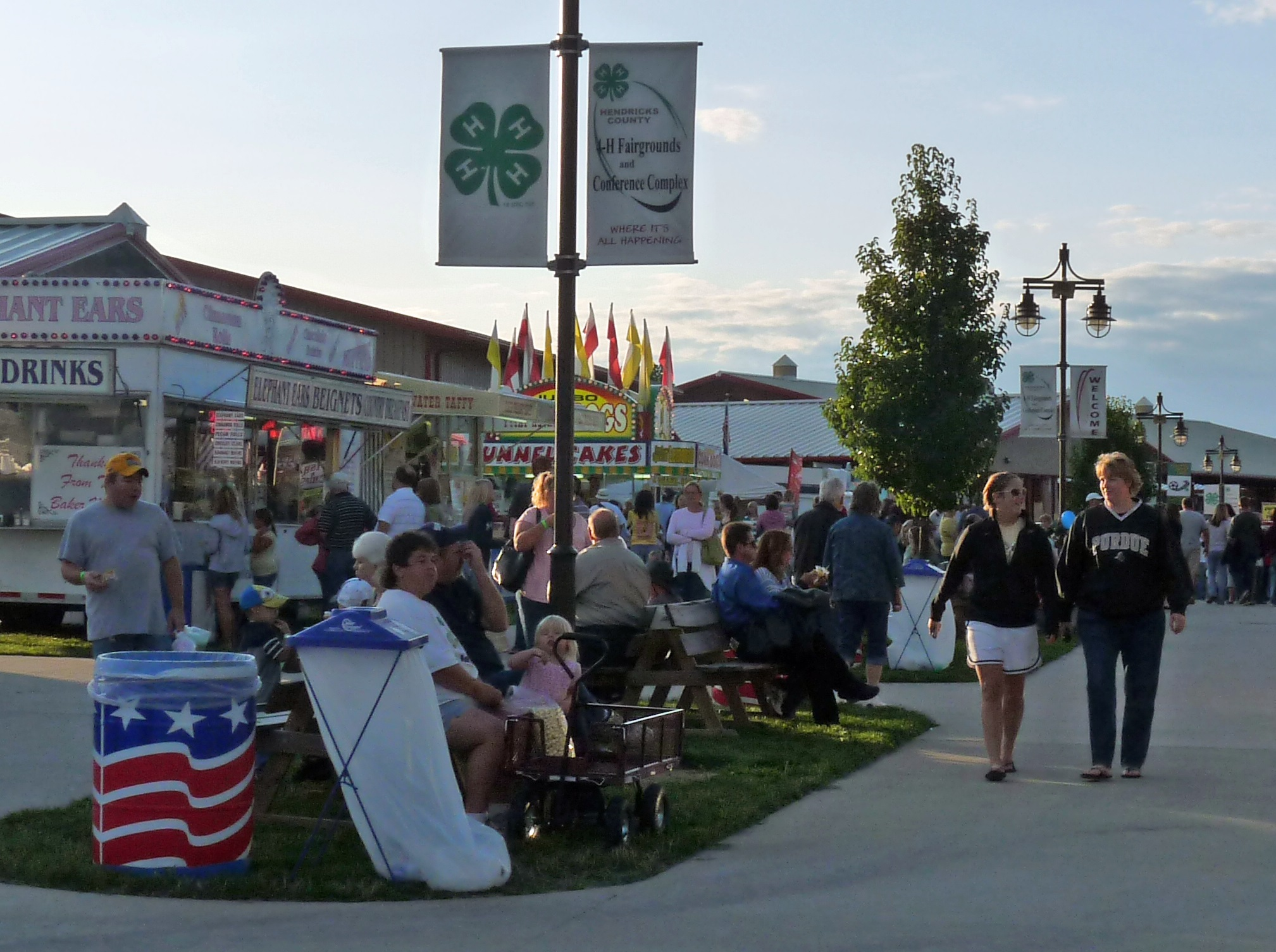 The Hendricks County 4-H Fair opens on Sunday!