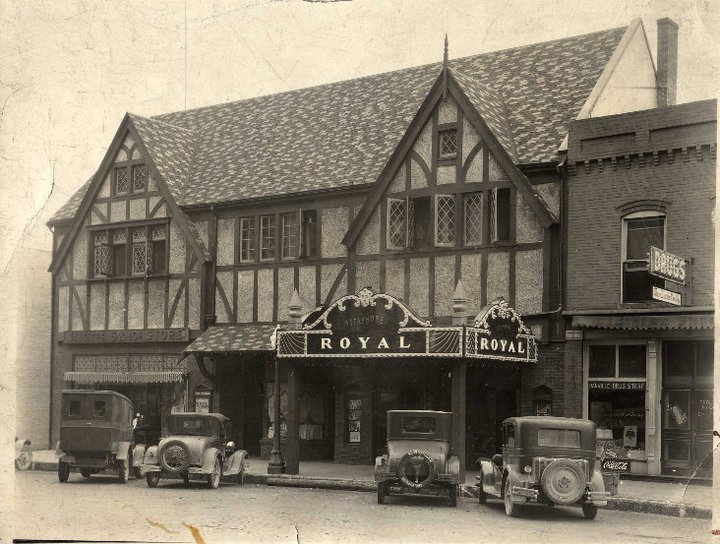 Experience modern day entertainment at throwback prices this fall at the Royal Theater in Danville, Ind. (Photo courtesy of Royal Theater Danville's Facebook page)