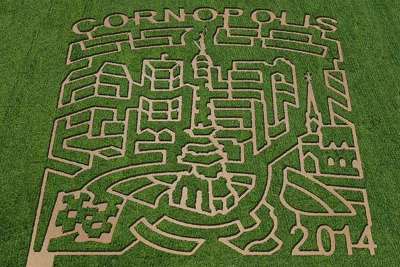 The 2014 maze theme is Cornopolis