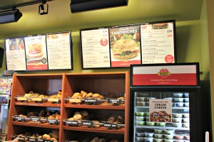 Big Apple Bagels menu