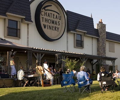 Chateau Thomas Winery Music on the Veranda, Plainfield, Indiana