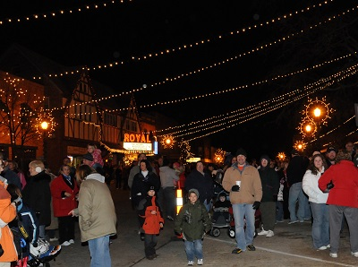 Christmas on the Square in Danville