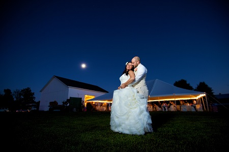 Wedding at Cartlidge Barn at the Hendricks County 4-H Fairgrounds & Conference Complex, Danville, Indiana