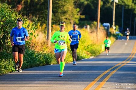 Hendricks County Half Marathon runners, Danville