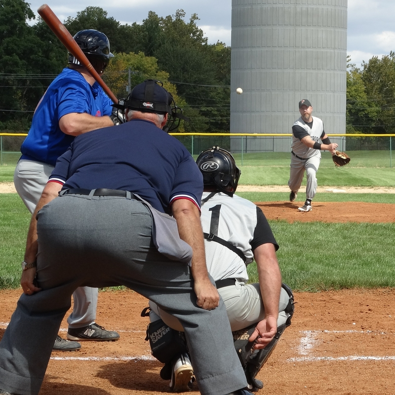 Hendricks County offers an abundance of baseball teams for men over the age of 30. (Photo courtesy of Hoosier Townball Association)