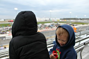 The Stock Car Series is the perfect event for introducing kids to racing!