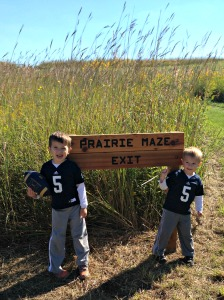 Don't forget to explore the Prairie Maze!