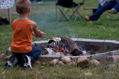 The entire family will enjoy a campfire during Fall Harvest Days at Nehemiah Ranch. (All photos courtesy of Nehemiah Ranch)