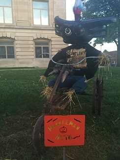 Danville, Scarecrow Display, Scarecrow Festival, Indiana