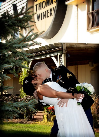 Wedding at Chateau Thomas Winery, Plainfield, Indiana