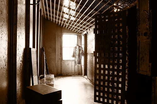 Former Jail inside the Hendricks County Historical Museum