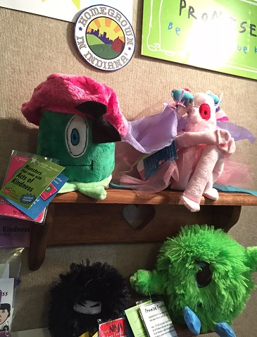 Promise Monsters at Wilbur's Lincolnwood Toy Store, Brownsburg, Indiana