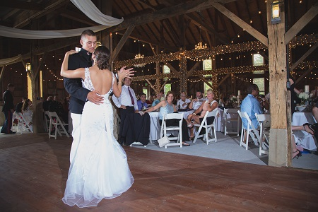 Avon Wedding Barn in Avon, Indiana