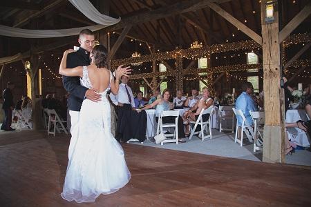 Avon Wedding Barn in Avon, Indiana