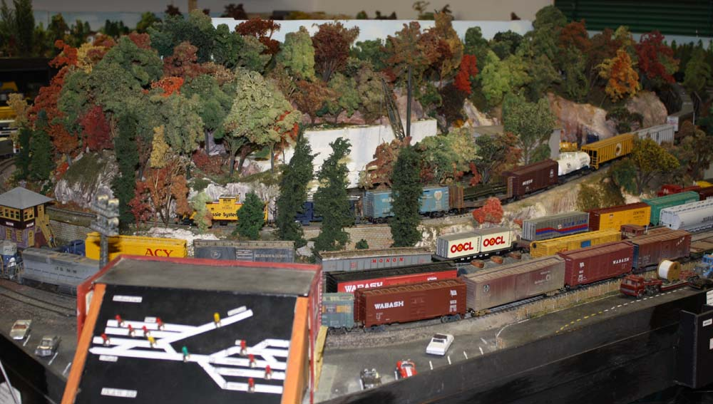 Danville Train Show, model trains