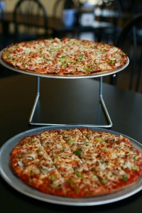 Pizza Paradise in Danville, Indiana, offers tasty pies and lots of TVs to watch the game.