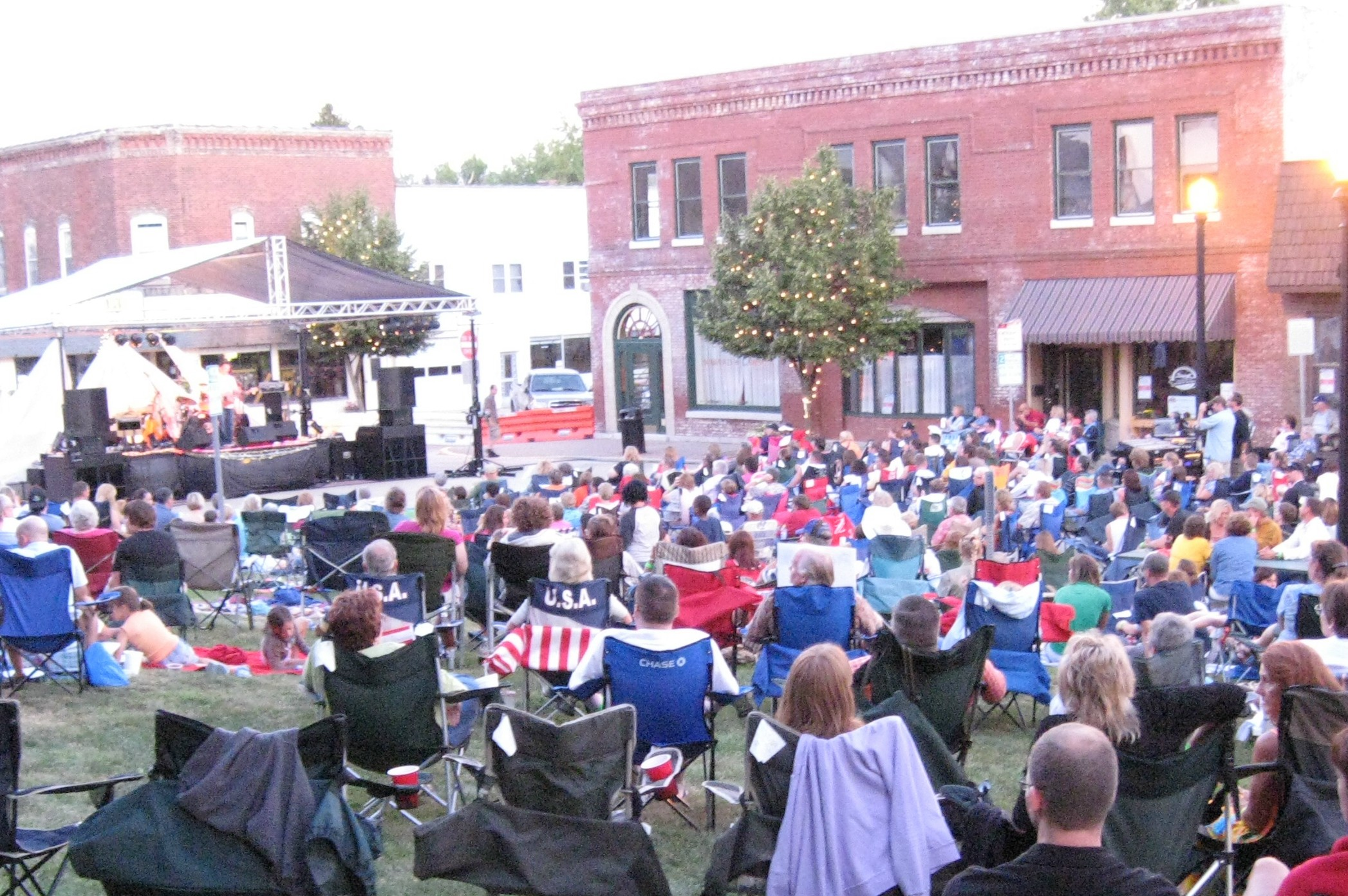 Enjoy live music in Danville during Summer Sounds on the Square on Sept. 19.