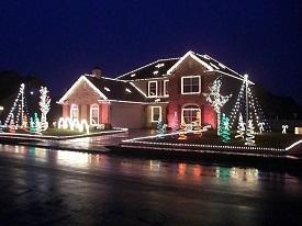 The White Christmas Display, Brownsburg, Light Display